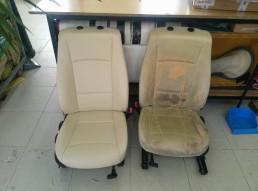Interni BMW X1 - prima e dopo
